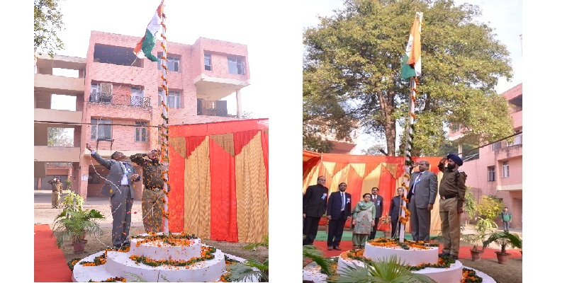 The Republic Day 2014 Celebrations @ PSTCL
